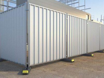 clôture temporaire en panneaux